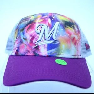 Youth New Era Milwaukee Brewers  9Forty Cap